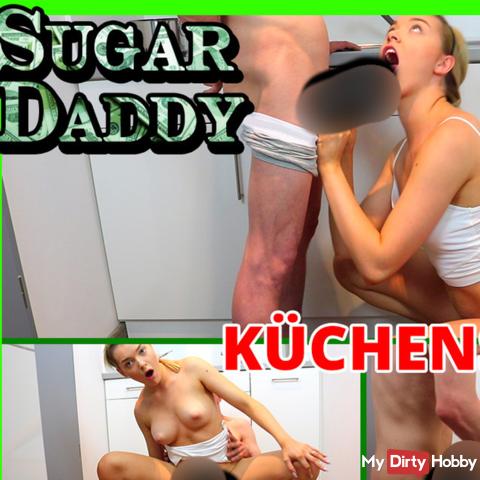 Sugardaddy in der Küche verführt!