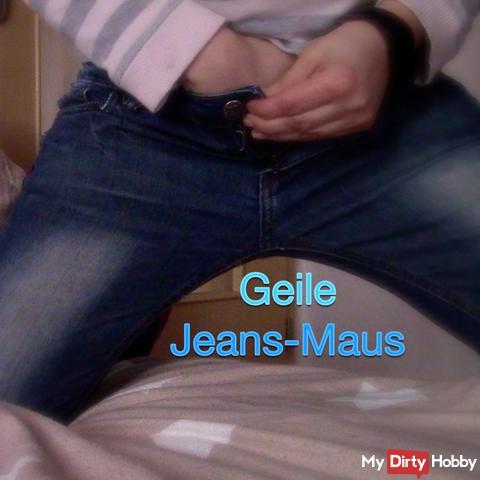 Geile Jeans-Maus