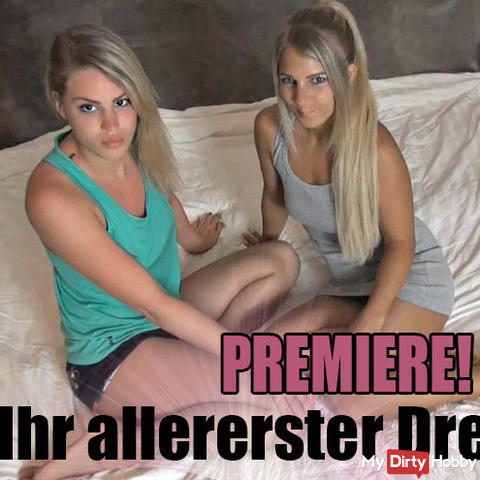 PREMIERE! Christy's very first threesome
