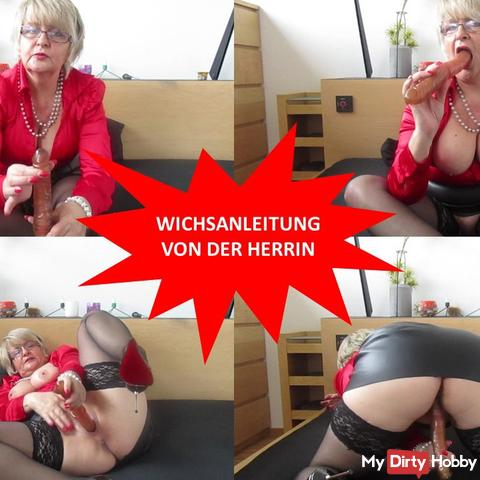 Wichsanleitung of the mistress