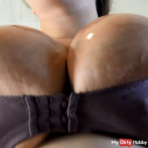 worshipping those huge boobs