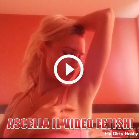 Achselhöhle Fetisch Video!