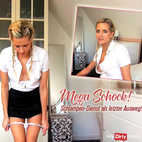 Mega shock! Sluts service as a last resort!