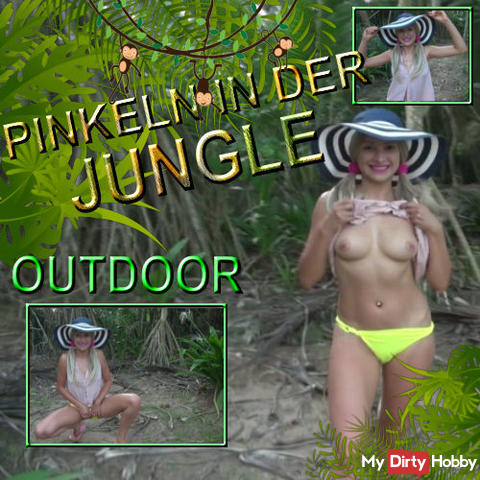 PINKELN IN DER JUNGLE