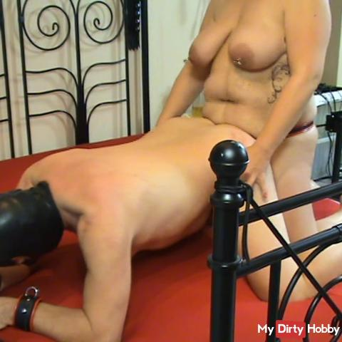 Devotion fucks the slave in the ass and he gets waxed 1.2