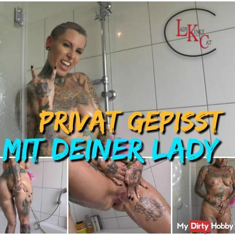 Private pissing with your lady