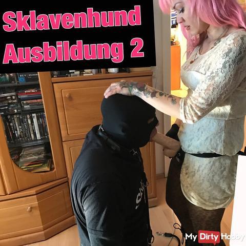 Dog Slave training 1 (Strapon ..