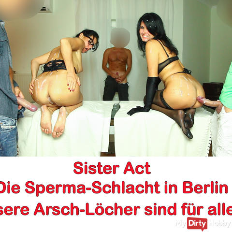 Sister Act, The sperm battle in Berlin. AO