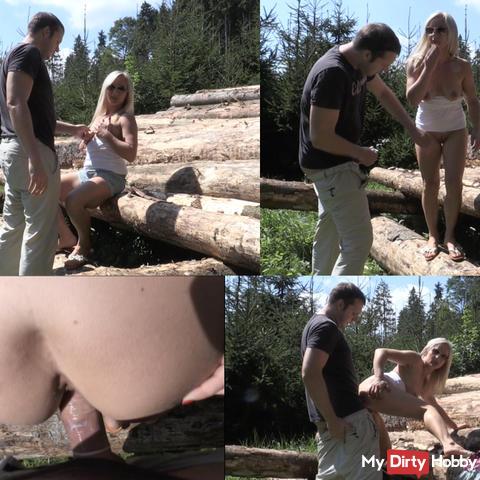 AUSGELAUFEN im Wald!!!