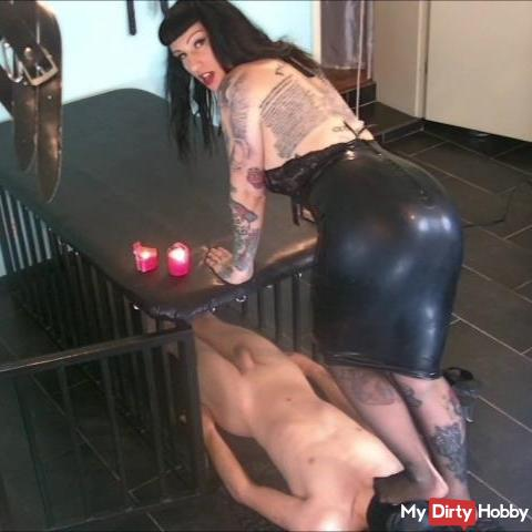Training to Obedient Slave Step 1: Submission