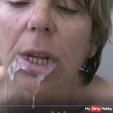 Inden mouth fucked his sperm