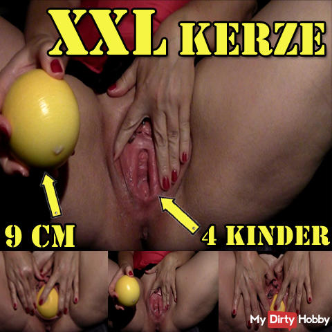 XXL Candle after my 4th birth