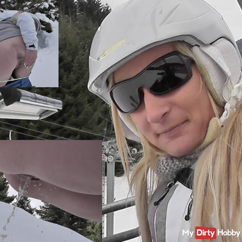 NS while skiing !!