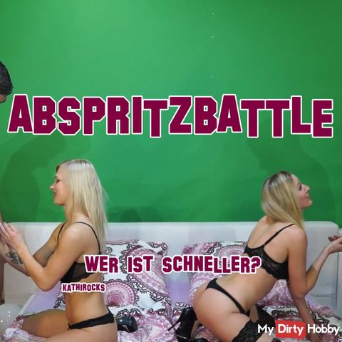 ABSPRITZBATTLE! - Who lets him squirt faster?