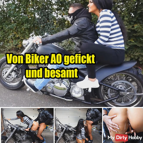 Fucked by Biker AO and inseminated