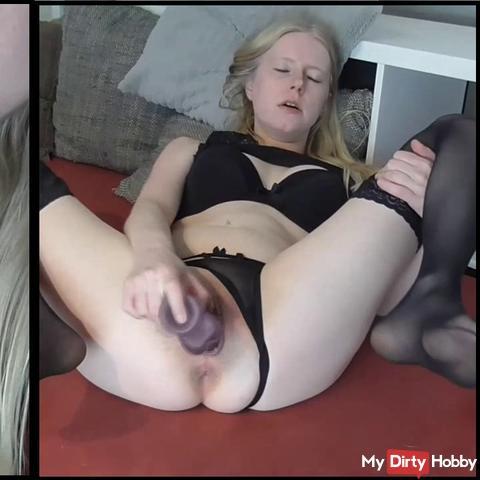 Violent orgasm lust!