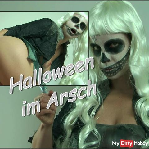 Halloween is in the ass!