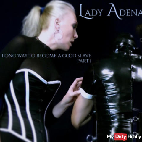 The long way to be a good slave, and to be milked Part 1