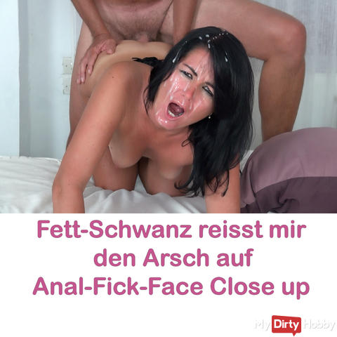 Hard anal fuck with mega orgasm and double insemination