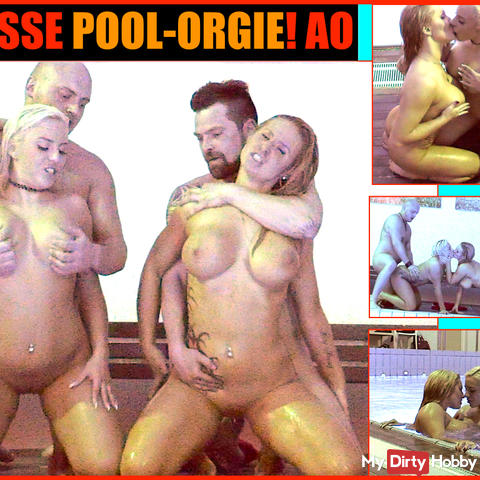 KRASSE POOL-ORGIE! AO