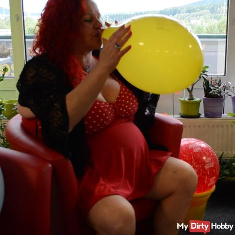 Balloon is inflated..NON-POP !!