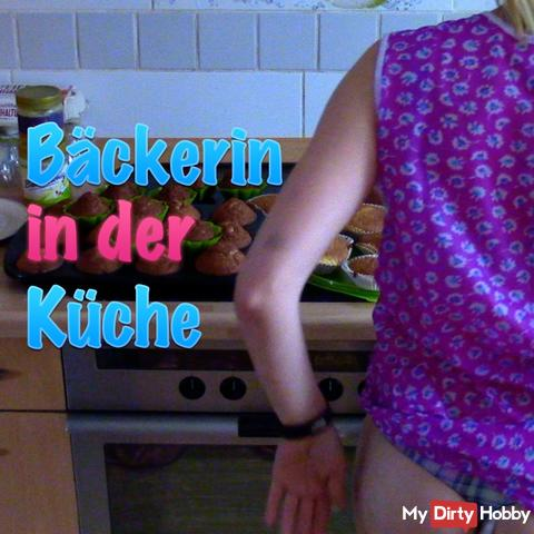 Baker in the kitchen