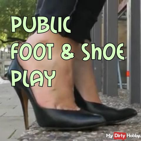 Public Shoe and Footplay