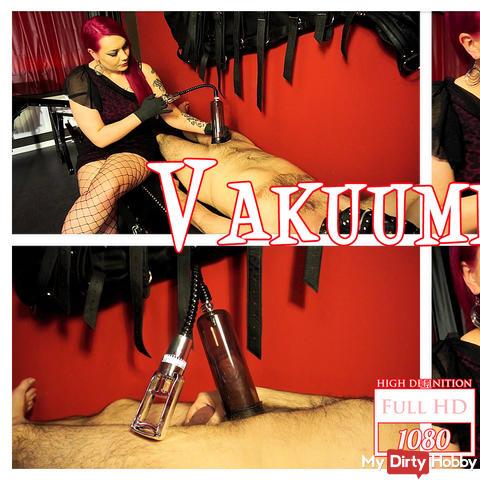 The vacuum pump