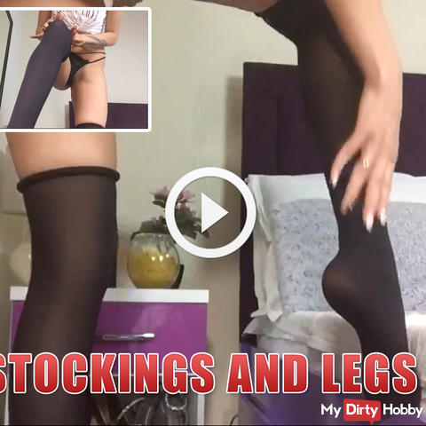 Stockings and legs !