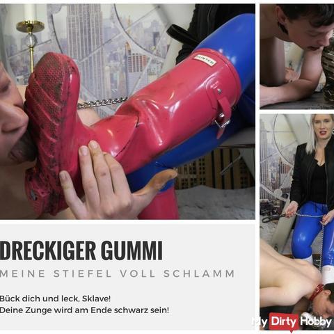 Hu*ter boots licker/worshipper