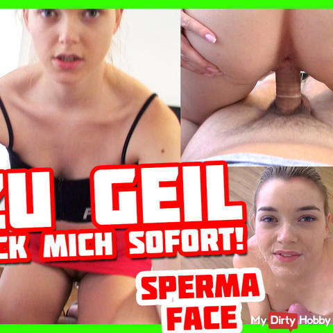 Instantfuck! 2 weeks without sex :O! | Anny Aurora