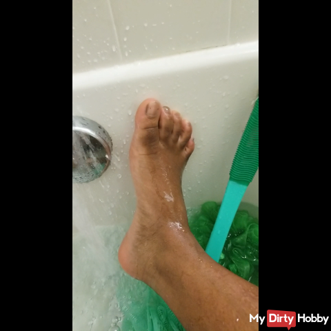 Goddess footbath