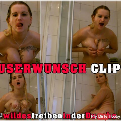 Userwunsch Clip - #wildestreibeninderdusche
