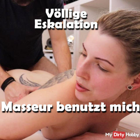 Complete ESCALATION masseur USES me