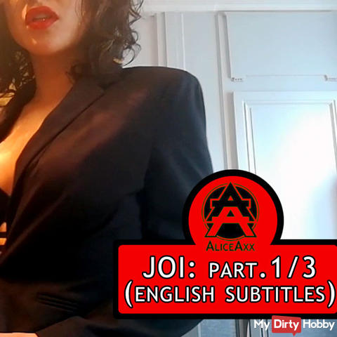 JOI: Instructions to wank: fuck me! PART.1 (english subtitles)