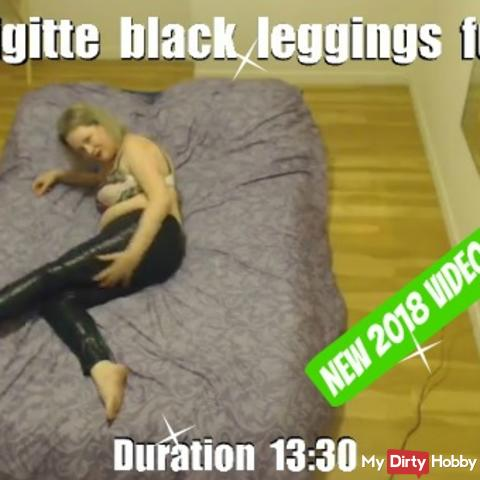 Brigitte black leggings fun