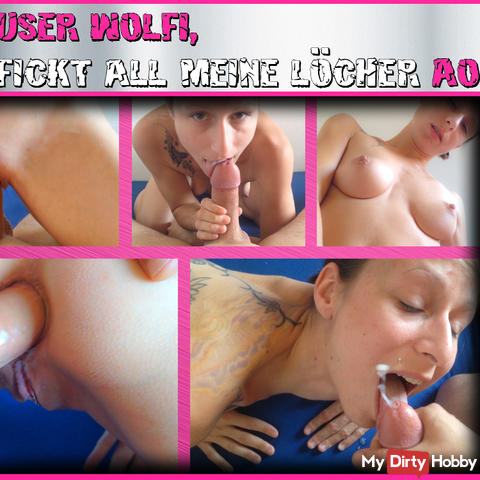USER Wolfi, fucks all my holes AO