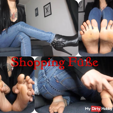 Shopping feet