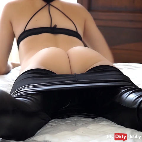 Unexpected visit - Step-Daddy punished me, part (2) - I want to swallow everything!