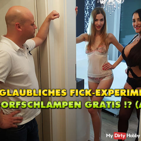 Incredible fuck experiment! 2 village sluts Free! (AO)