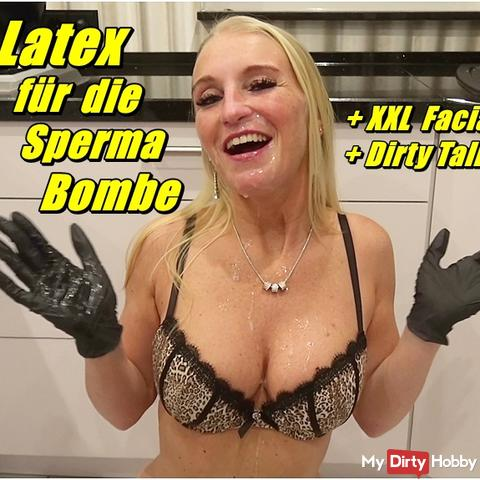 Latex for the CUM Bomb - XXL Facial