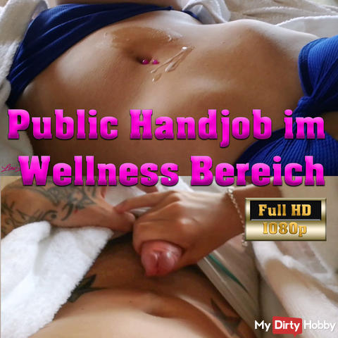 Public Handjob at the spa