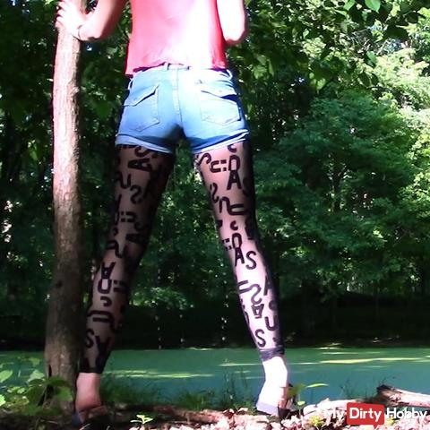 Made in the woods in the pants