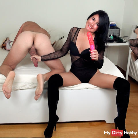 Perverse Rimjob! Your anal deflowering !!