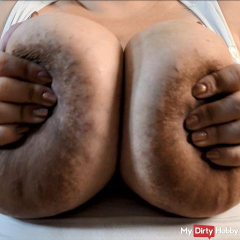 POV smother u with boobs