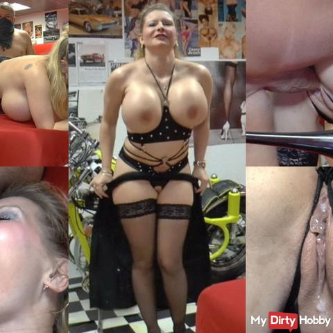 In the precious garage fucked and pure injected