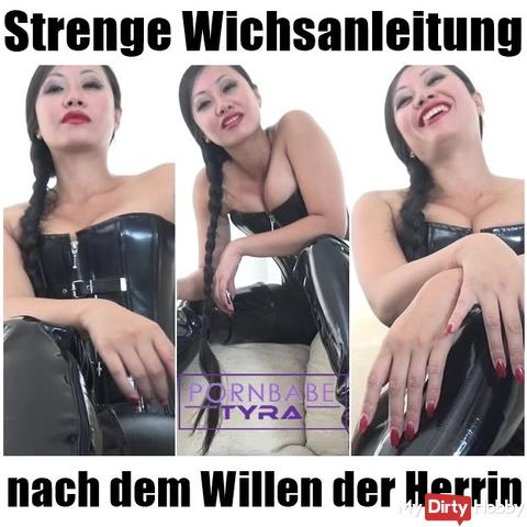 Stern Wichsanleitung according to the will of the mistress