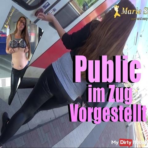 Public im Zug
