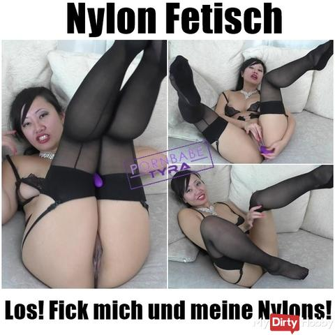 Nylon Fetish - Go! Fuck me and my nylons!