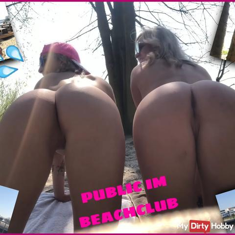 PUBLIC IN THE BEACH CLUB | Wet spring air !!!